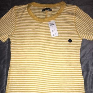 🚫SOLD🚫  Striped 70's Inspired T-Shirt 💛